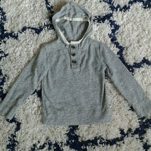Crew Cuts size 3 hooded sweater